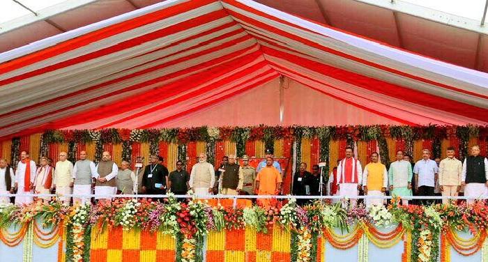 yogi cabinet आज से कार्यभार संभालेंगे उत्तर प्रदेश सरकार के नए मंत्री