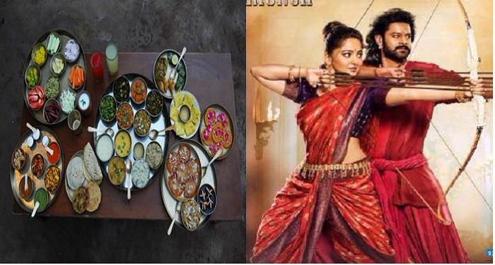 bahubali 1 'बाहुबली' फिल्म का नया ट्रेंड है 'बाहुबली थाली'