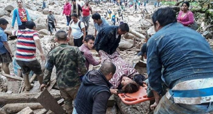 co कोलंबिया में भारी त्रासदी, भूस्खलन में 200 लोगों की मौत, सैकड़ों घायल
