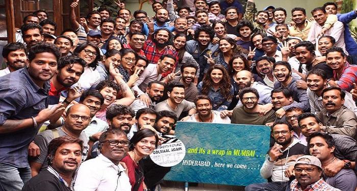 ent शूटिंग के लिए हैदराबाद पहुंची गोलमाल 4 की टीम