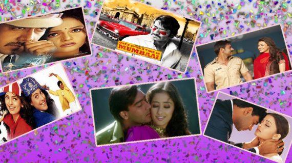 तस्वीरों में देखें किन फिल्मों ने दी अजय को बाॅलीवुड में पहचान…