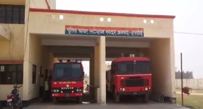 अग्निशमन विभाग की लापरवाही के कारण राख होते बची फसल