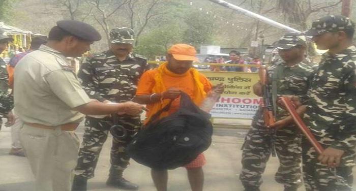 indo nepal भारत-नेपाल बॉर्डर पर पुलिस ने चलाया चैकिंग अभियान
