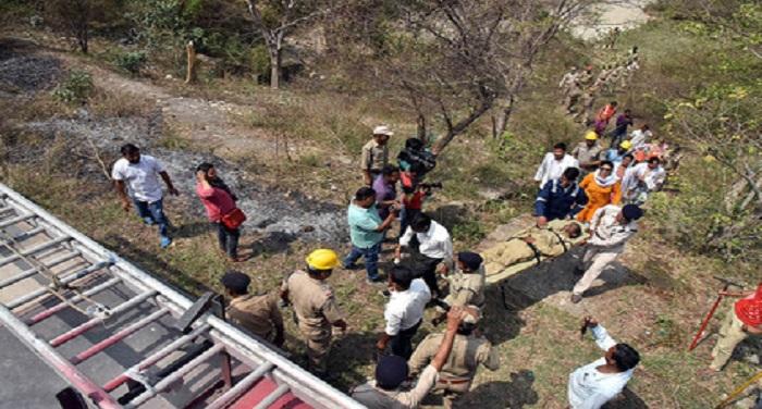 mock drill जंगलों में आग लगने पर सभी हो सुरक्षित इसके लिए की गई मॉक ड्रिल
