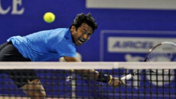 लियोन चैलेंजर टेनिस टूर्नामेंट में पेस ने मारी बाजी