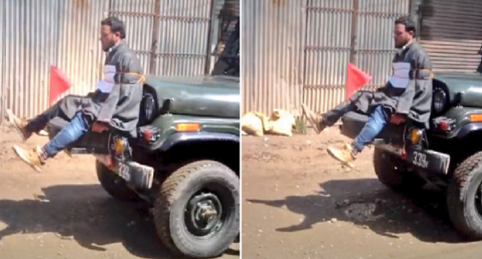 protest सेना वीडियो मामला : जम्मू-कश्मीर पुलिस ने सेना के खिलाफ दर्ज की FIR