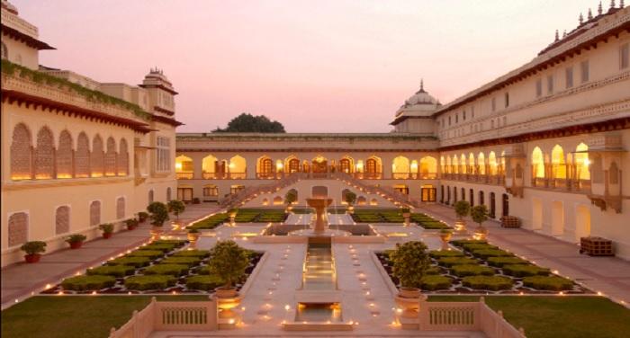 जयपुर का 'ताज रामबाग पैलेस' दुनिया के टॉप 10 हेरिटेज होटल्स में शामिल