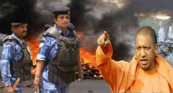 YOGI ACTION IN SAHARANPUR सहारनपुर हिंसा को लेकर अधिकारियों पर गिरी गाज, जिले में धारा 144 लागू