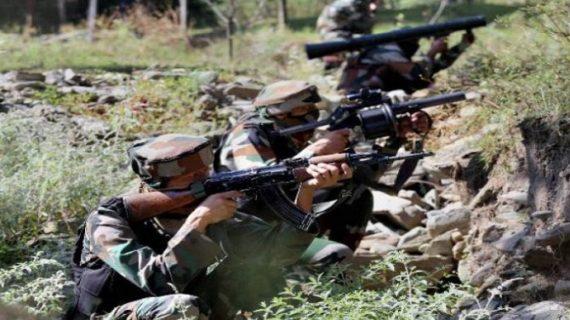 सेना और आतंकियों की बीच मुठभेड़ में 2 आतंकी मारे गये