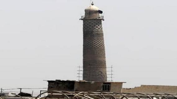 बगदाद के एतिहासिक नूरी मस्जिद को आईएस ने उड़ाया