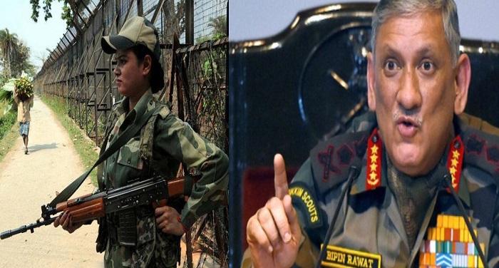 army chief and woman जल्द ही लड़ाकू भूमिका में सेना का हिस्सा बनेंगी महिलाएं: आर्मी चीफ रावत