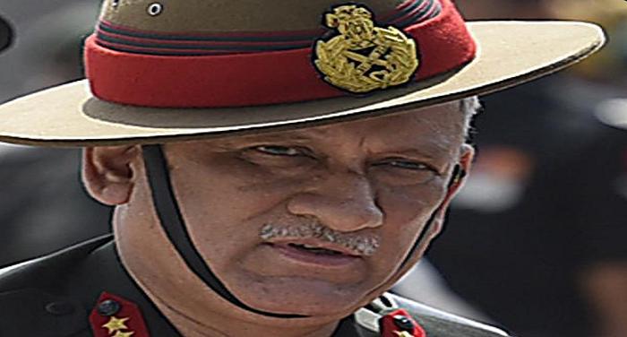 bipin rawat अचानक आकर सेनाध्यक्ष ने लिया पश्चिमी सीमा का जायजा