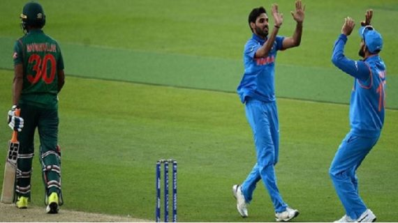 चैंपियंस ट्रॉफी के सेमी फाइनल में आज एक दूसरे से भिड़ेंगे भारत बांग्लादेश