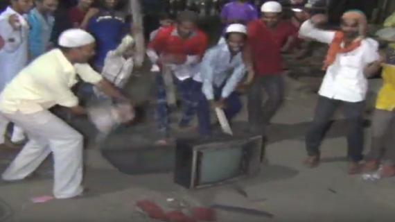 लोगों ने इंडिया की हार का गुस्सा टीवी पर उतारा : मेरठ