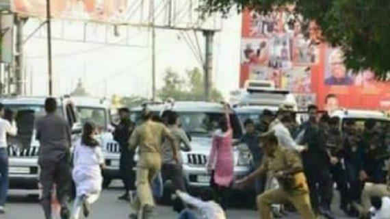 योगी की सुरक्षा में लापरवाही, 6 पुलिसकर्मी सस्पेंड, 14 छात्र नेता जाएंगे जेल