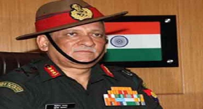 sss बिपिन रावत: भारत का चीन को करारा जवाब