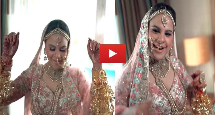 video viral दुल्हन का ये अंदाज देख लोगों ने दांतों तले दबा ली अंगुलियां देखें वीडियो में