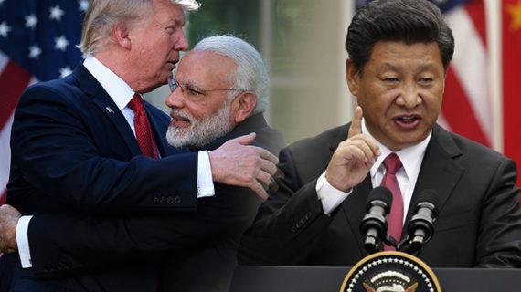 भारत अमेरिका की दोस्ती से परेशान चीन, बोला युद्ध करना चाहता है अमेरिका