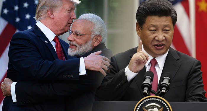 chinese media, miffed, us, support, india,military clash