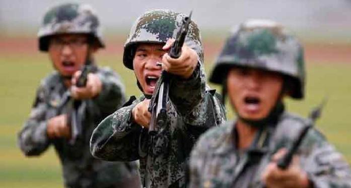 doklam, chaina, india, standoff, chinese army, military, parade, anniversary