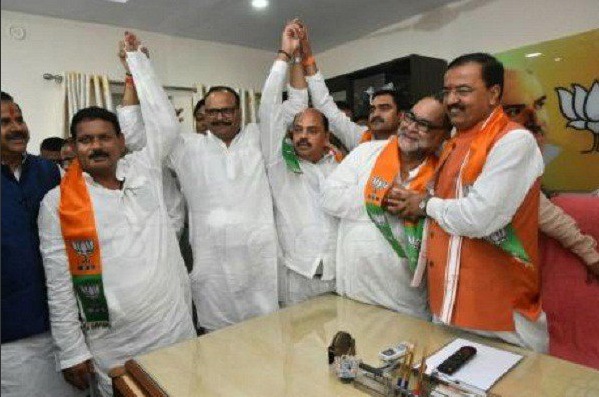 sp and bsp leader, join bjp, keshav prasad morya