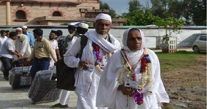 first batch, haj, pilgrim, saudi arabia, Lucknow