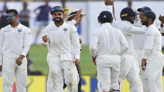 भारत ने श्रीलंका को 304 रनों से हराकर हासिल की शानदार जीत