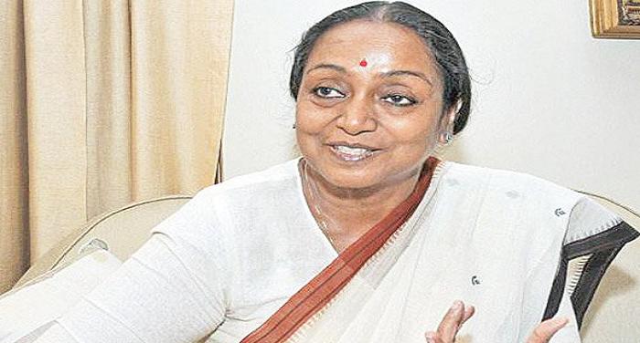 ltri चुनाव प्रचार के लिए शिमला पहुंचेंगी मीरा कुमार