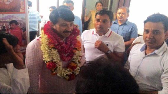 दिल्ली बीजेपी ने डी.ई.आर.सी. जन सुनवाई का किया बहिष्कार
