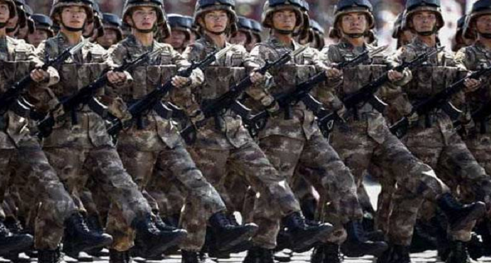 chinese, soldiers, conducted, maneuvers, tibet, released, video