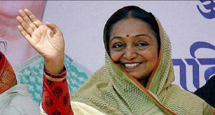 sygdh चुनाव प्रचार के लिए मेघालय पहुचेंगी मीरा कुमार