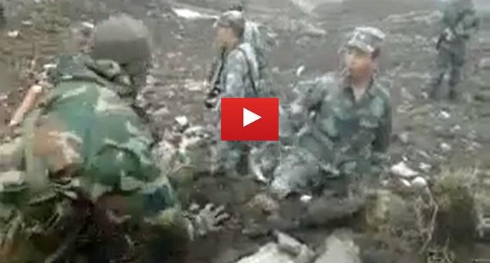 video1 भारतीय सैनिकों और चीनी सैनिकों के बीच झड़प का वीडियो हुआ वायरल देखें पूरी घटना