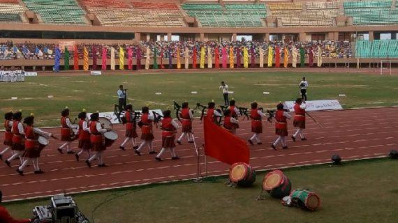 सीएपीएफ फुटबॉल टैलेंट हंट टूर्नामेंट 'ऊर्जा' के तीसरे चरण का उद्घाटन
