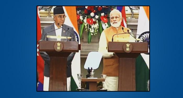 pm modi, nepal pm, sher bhadur deuba, himalya, bharat, pm modi news