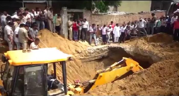 मिट्टी की ढांग गिरने से मजदूर की मौत