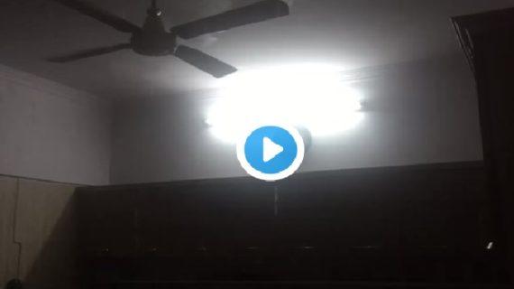 वीडियो। बारिश से परेशान योगी कैबिनेट मंत्री, घर की छत से टपक रहा पानी