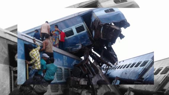 हादसा: कलिंग उत्कल एक्सप्रेस के डिब्बे पटरी से उतरे, 35 यात्री घायल, 9 की मौत