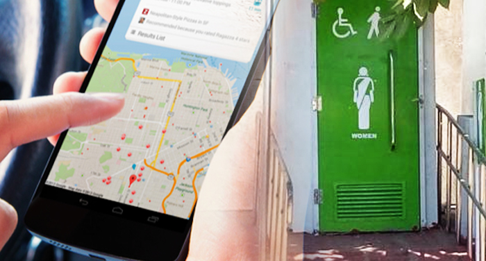 Google, will tell you, distance, your, nearest, toilet, swatch bharat abheyan, google maping,