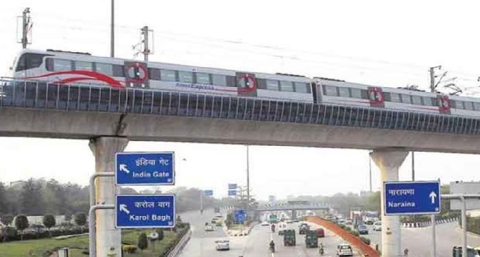 delhi metro, run, highest point, track, DMRC, Corridor