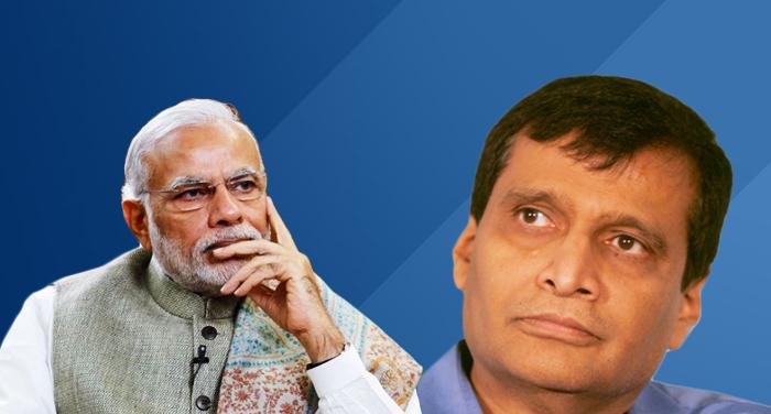 train accident, rail minister, suresh prabhu, resign, pm modi