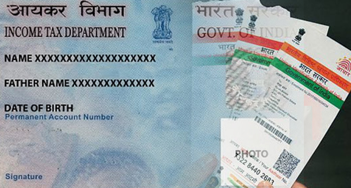 pan card and adhaar card