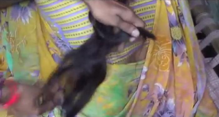 हरदोई में महिला की चोटी कटने के जाने के बाद फैली दहशत