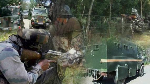 घाटी में सुरक्षाबलों और आतंकियों के बीच मुठभेड़ जारी, एक आतंकी को मार गिराया