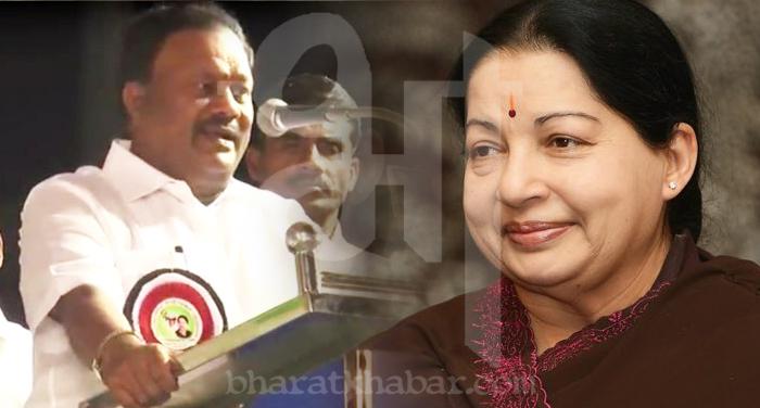 Jayalalithaa and Sreenivaasan_