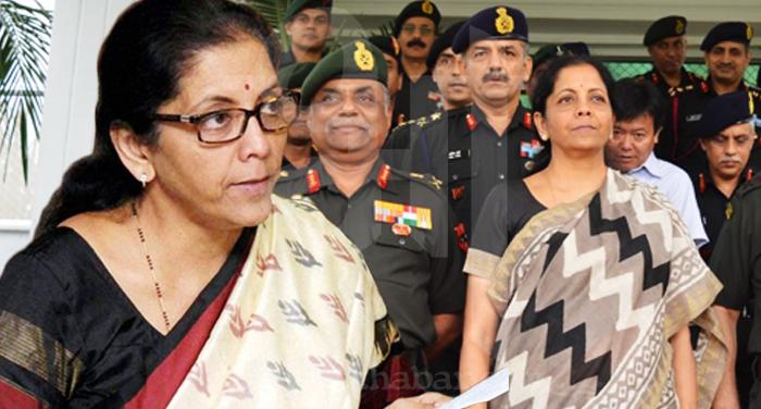 Nirmala Sitharaman 56 इंच का सीना दिखाना अब जरुरी नहीं, सेना सभी स्थिति ने निपटने के लिए तैयार- रक्षा मंत्री