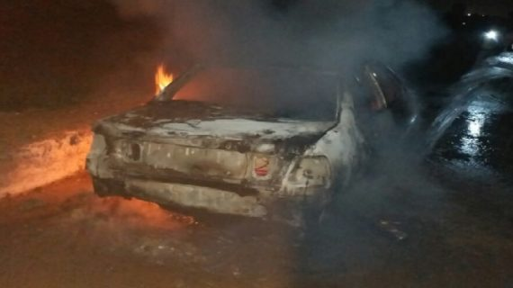 कार में आग लगने से तीन युवकों की मौत, थोड़ी ही देर में राख बन गए युवक
