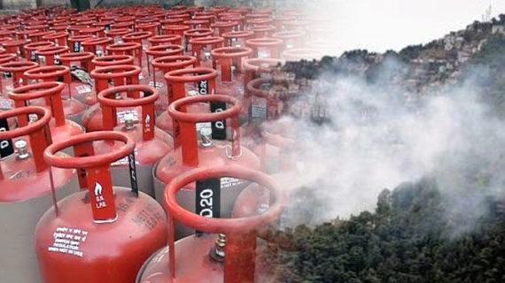 उत्तराखंड का नौगांव बना पहला धुंआ मुक्त गांव