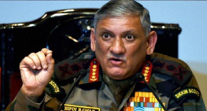 indian army, dispatch, terrorists, army chief, general, bipin rawat