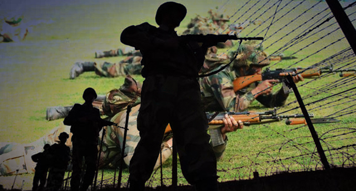 indian army 3 सीमा पर फायरिंग में 1 नागरिक की मौत, देखे गए 5-7 घुसपैठिएं