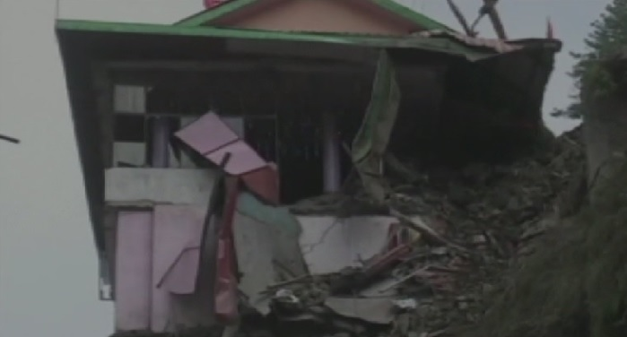 landslide, chandigarh, shimla, national highway